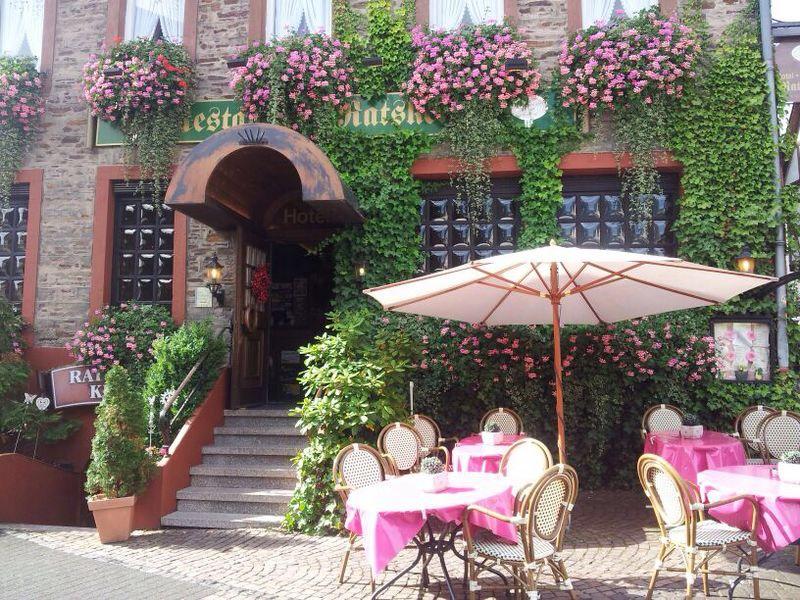 ingang Hotel Ratskeller in Kröv