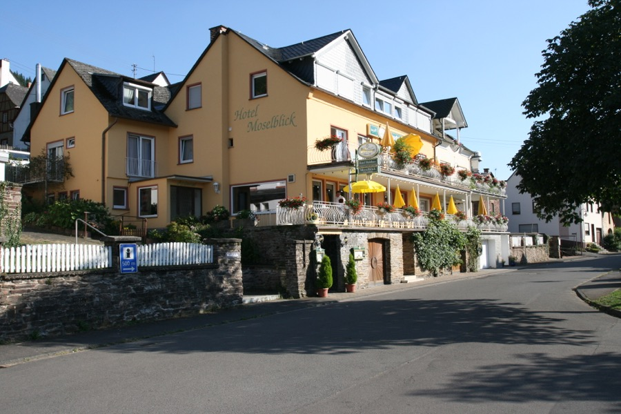 Hotel Moselblick in Burg gelegen aan de Moezel