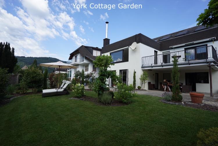 Woningen York Cottage tuin