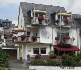 Pension en wijngoed Coen in Bernkastel-Kues