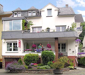 Balkon onderste appartement Weiss in Ediger-Eller