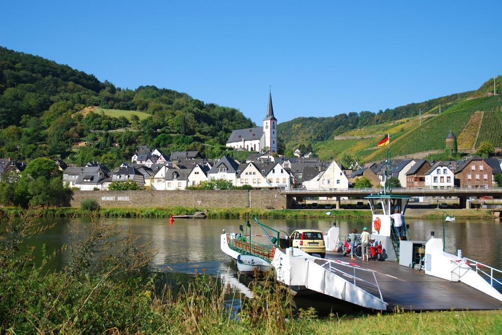 Pontje bij Briedel naar Marienburg