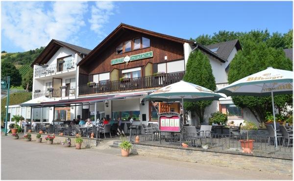 Het hotel Moselblick Piesport